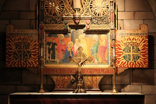 Altar in St Vincent Ferrer, NYC
