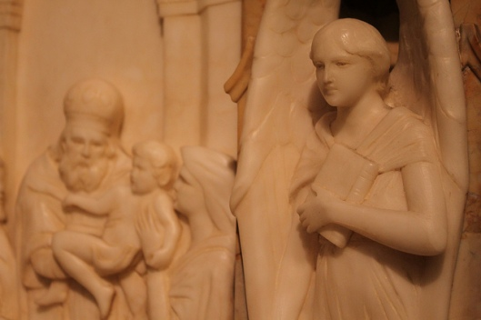 The presentation of Christ in the temple, depicted in Saint Vincent Ferrer, NYC, NY