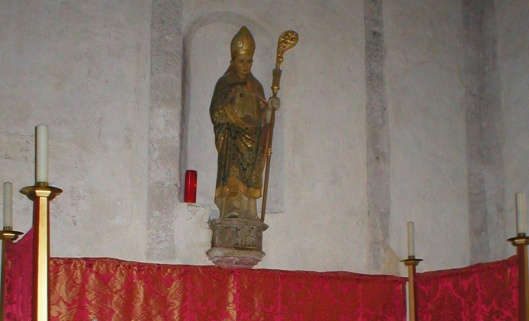 St Blaise in the former Priory Church, Boxgrove, Sussex