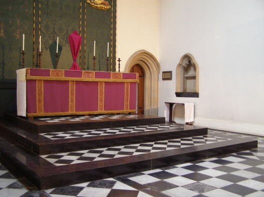 The high altar of Saint John the Evangelist, Iffley Road