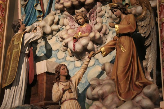 Detail from Saint Michael's, Chicago, IL