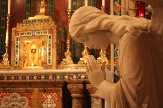 Blessed Sacrament chapel of the Cathedral Basilica of Saint Louis, MO