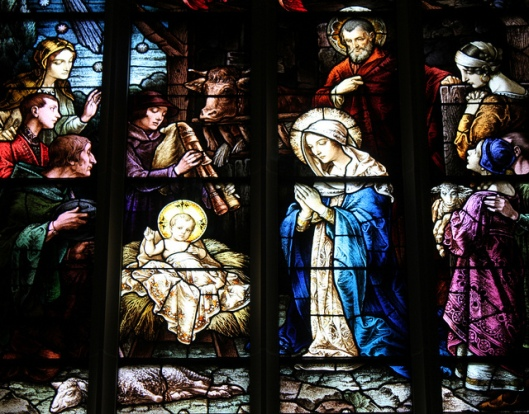 Window of the Nativity in the Cathedral Basilica of the Assumption, Covington, KY
