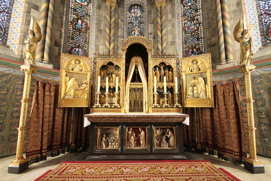 High Altar of Rolduc Abbey, Kerkrade, Netherlands