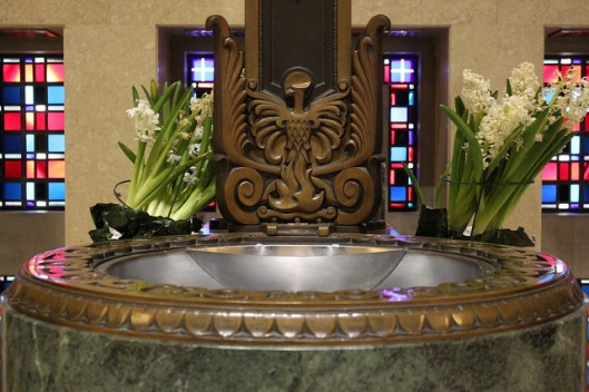 Baptismal Font, Cathedral Church of Saint Peter in Chains, Cincinnati, OH