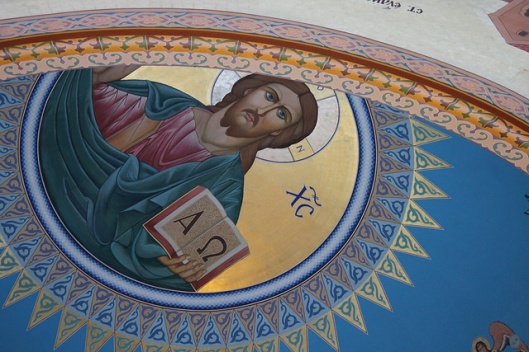 Detail from the Ukrainian Catholic Church of Ss Volodymyr and Olha, Chicago, IL