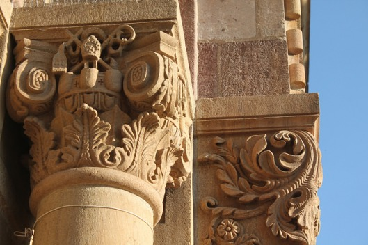 Detail from the Cathedral Basilica of Saint Francis, Santa Fe, NM