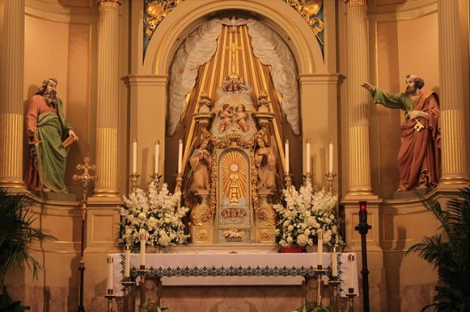 High Altar, Cathedral Basilica of Saint Louis, New Orleans, LA