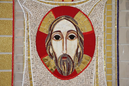 The Face of Christ by Fr Marko Rupnik in the Saint John Paul II National Shrine, Washington DC