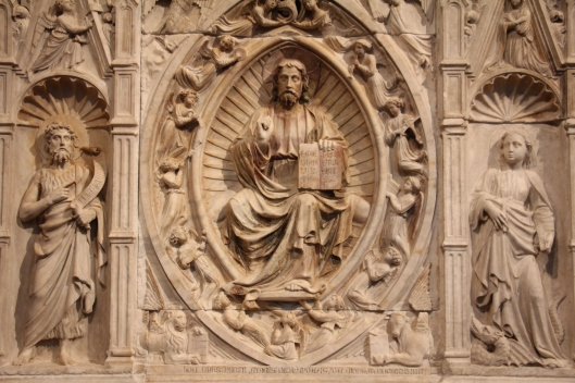 Christ in Majesty, Andrea de Giona (1424), The Cloisters, NY
